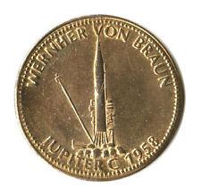 MEDAGLIA MEDAL SHELL VOLISTORIA - WERNHER VON BRAUN - JUPITER C - 1958