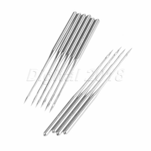12 Sizes DBX1 Industrial Sewing Machine Needles For Singer Brother 10//50//100pcs