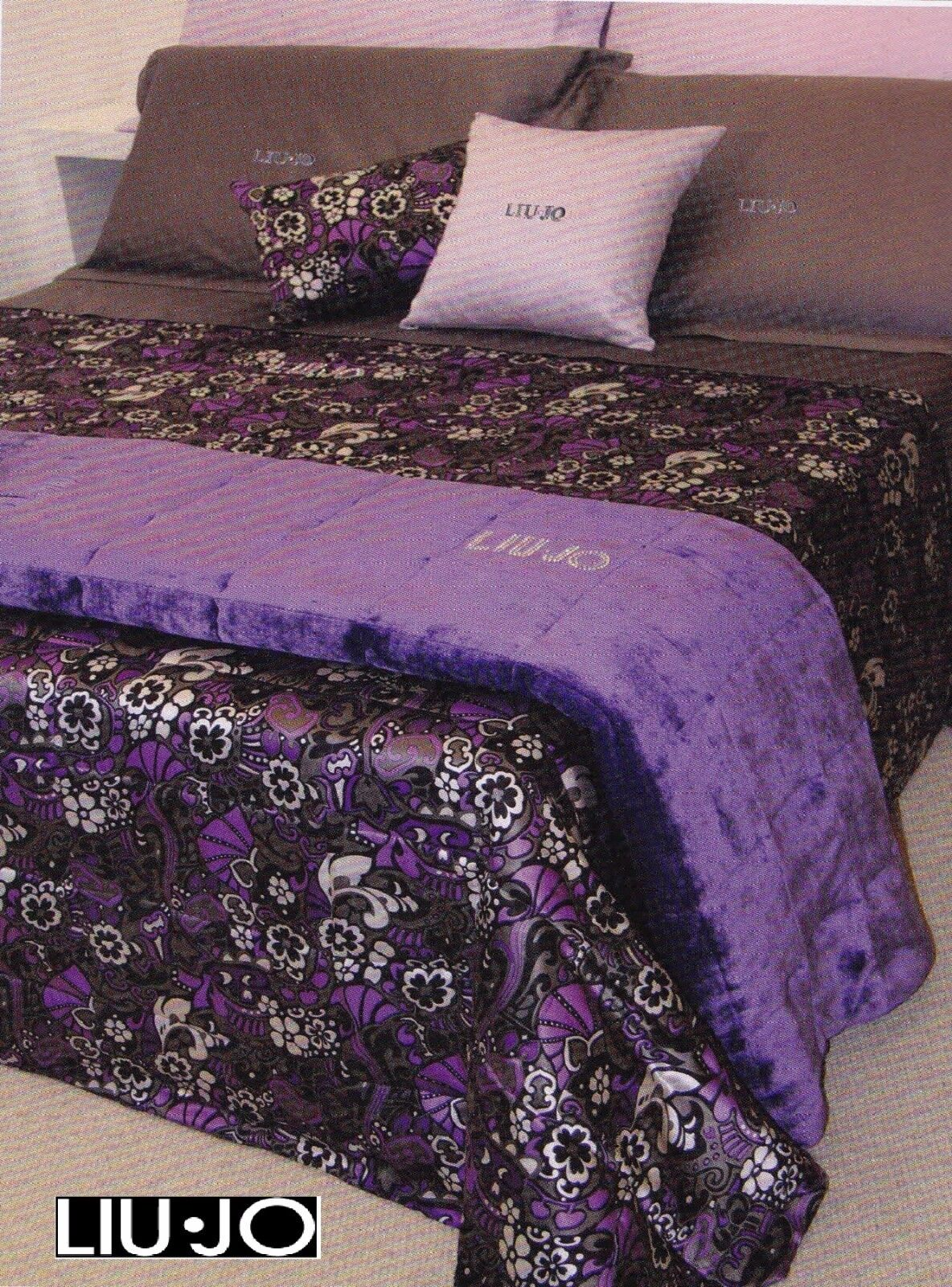 LIU JO. Quilt,Quilted bedspread LAMBRO from 0.22 pounds square meters Double,