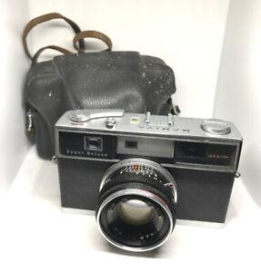 Mamiya-Super-Deluxe-Sekor-48mm-F1-2-l-039-obiettivo-con-custodia-ottime-condizioni