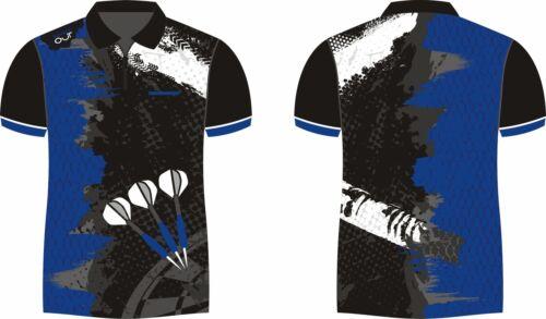 Dart Shirt Trikot Dartshirt Darttrikot Dart-Shirt Dart-Trikot CUSTOM 9 unisex