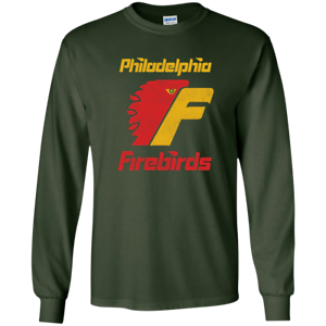 Philadelphia Firebirds Retro Hockey G240 Gildan Ultra Cotton T-Shirt