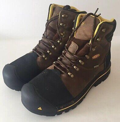 545a6c77d3f KEEN Utility Men's Milwaukee Wide Work Boot 13 EE US Dark Earth
