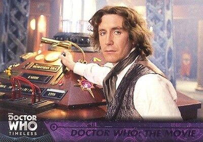 Doctor Who Timeless Green Parallel Base Card #37 Doctor Who The Movie