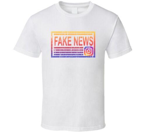 Fake News Vinny Jersey Shore Instagram Funny Social Media T Shirt