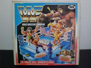 HASBRO-WWF-Ring-King-of-the-Blue-Figure-Hulk-Rare-Limited-Toy-Vintage