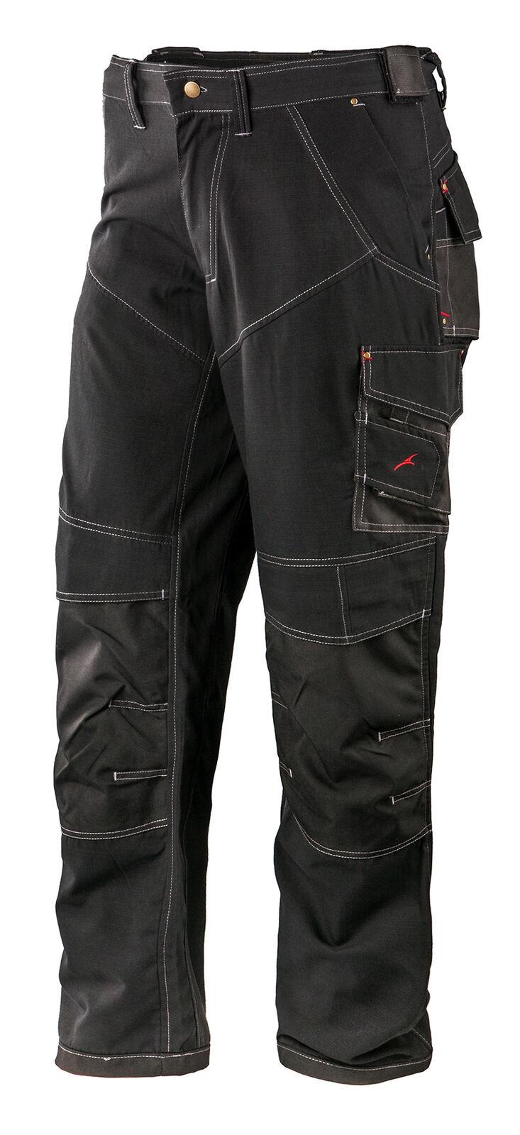 Pantaloni Federale Freestyle SR-MODERNI FORMA-ì resistenti-Nero
