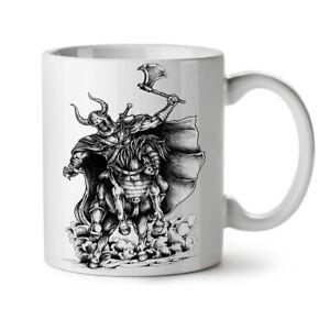 Old Warrior Geek NEW White Tea Coffee Mug 11 oz   Wellcoda