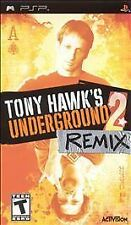 Tony Hawk's Underground 2 Remix UMD PSP GAME SONY PLAYSTATION PORTABLE