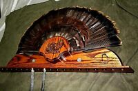 Wild Turkey Hunting Mount For Beard Tail Holder Trophy Panel Plaque Taxidermy