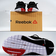 Reebok zcut tr hombres patadas Negro Cardio entrenador Zapatos Zapatillas de Correa de talón Lesmills