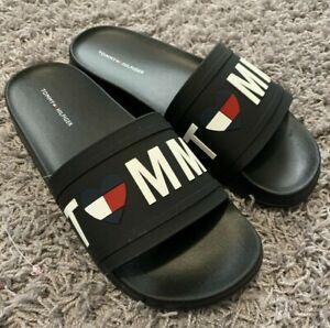 318e66a14 Tommy Hilfiger Dayan Women s Slide Sandals Black color Size 9 New