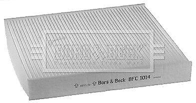 Ford Mondeo MK4 1.6 TDCi Genuine Borg /& Beck Cabin Pollen Interior Air Filter