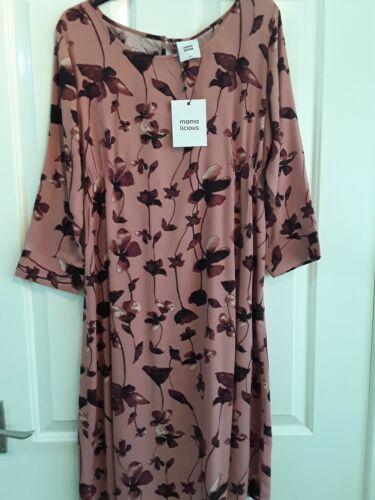 stunning shades M rrp £38.00 Maternity Dress By Mama Licious Size NWT