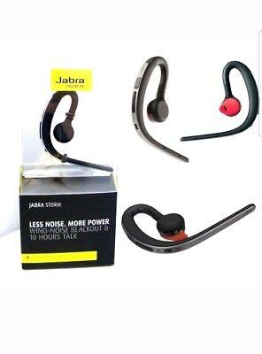 New Jabra Storm Bluetooth Wind Noise Reduction Genuine Headset Hd Voice Nfc Ebay