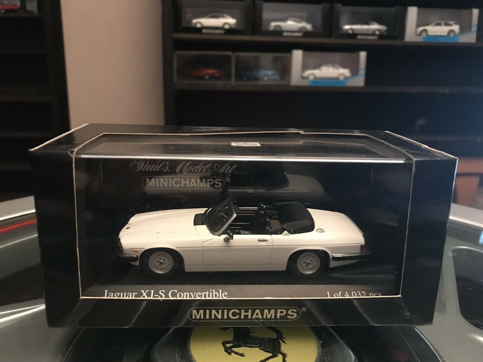 Minichamps Jaguar XJ-S Congreenible 1988 White 1 43 MIB Ltd Ed 400 130430