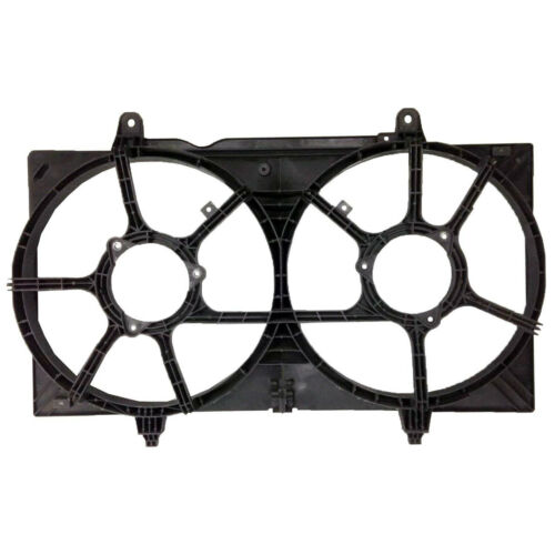 Maxima 2002-2008 New Front Radiator Cooling Dual Fan Shroud for Nissan Altima