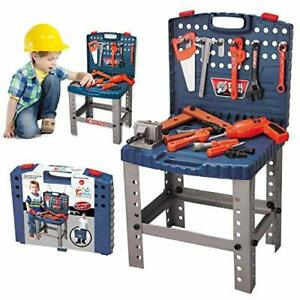 68-Piece-Kids-Toy-Workbench-W-Realistic-Tools-and-Electric-Drill-for
