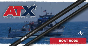 ATX-Power-Lifting-039-Boat-039-Rod-Blanks-E-Glass-with-Graphite-Power