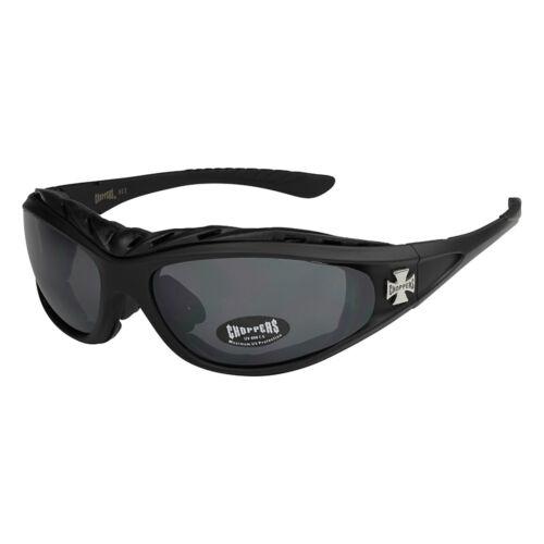 Choppers 201 Sonnenbrille Skibrille Brille Herren Damen Männer Frauen schwarz