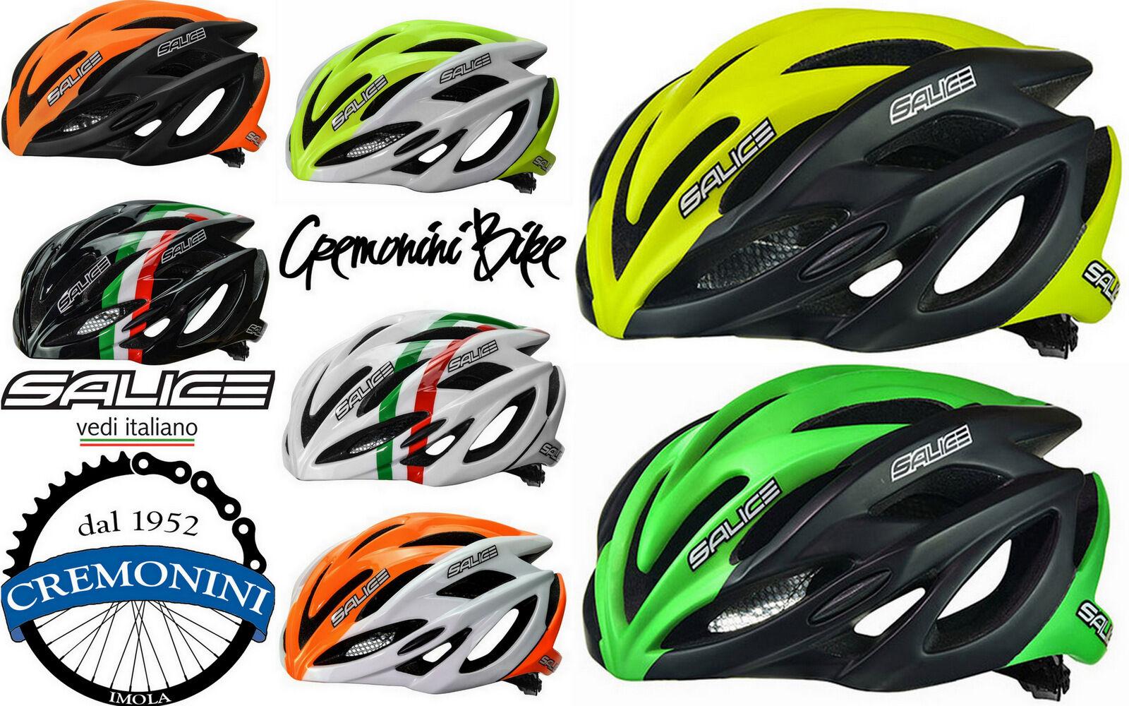 SALICE casco bici corsa mtb ciclismo bike helmet triColor mountain GHIBLI italy