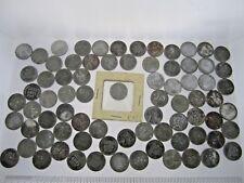 SET of 3 Rare Metal Portraits 1943 Genuine Steel Wartime Wheat Penny U.S Coin
