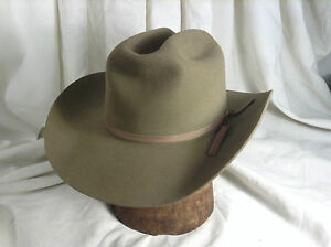 Vintage Stetson Made for Sheplers World s Largest Western Store Sage ... 2f7bae0d57d