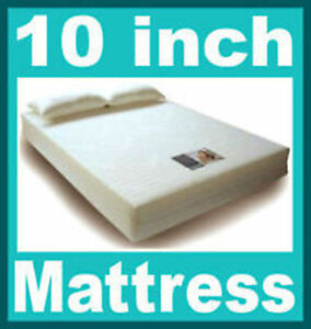 Image Is Loading 10 Inch Double Size Visco Elastic Memory Foam