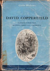 LIBRO-Dickens-David-Copperfield-trad-Cesare-Pavese-1964-Petrini-ILLUSTRATO