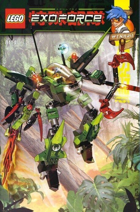 LEGO Exo-Force 8114 Humans Chameleon Hunter New Sealed