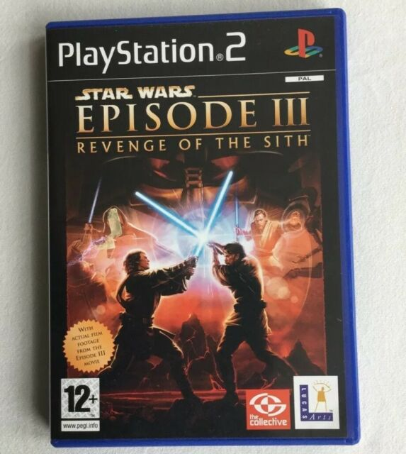 Star Wars Episode Iii Revenge Of The Sith Playstation 2 Ps2 Game Boxed 1st For Sale Online Ebay