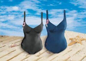 KAPPA-Damen-Badeanzug-Schwimmanzug-Buegel-Einteiler-Bademode-Blumenmuster