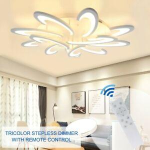 Acrylic-Modern-LED-Ring-Lamp-Chandelier-Ceiling-Light