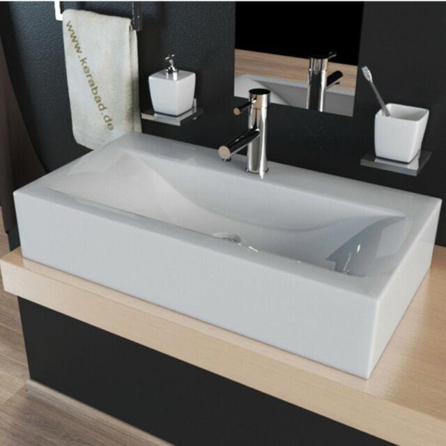 Handwaschbecken 50 x 40 cm NEU  ganz tolles Design ohne abgebildete Halbsäule
