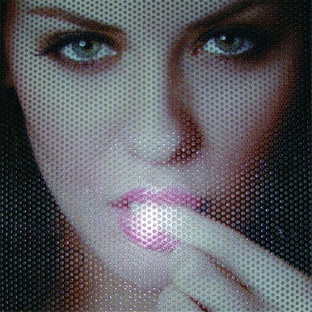 One Way Folie Lochfolie für Digitaldruck 300cm x 122cm Sichtschutzfolie Schwarz