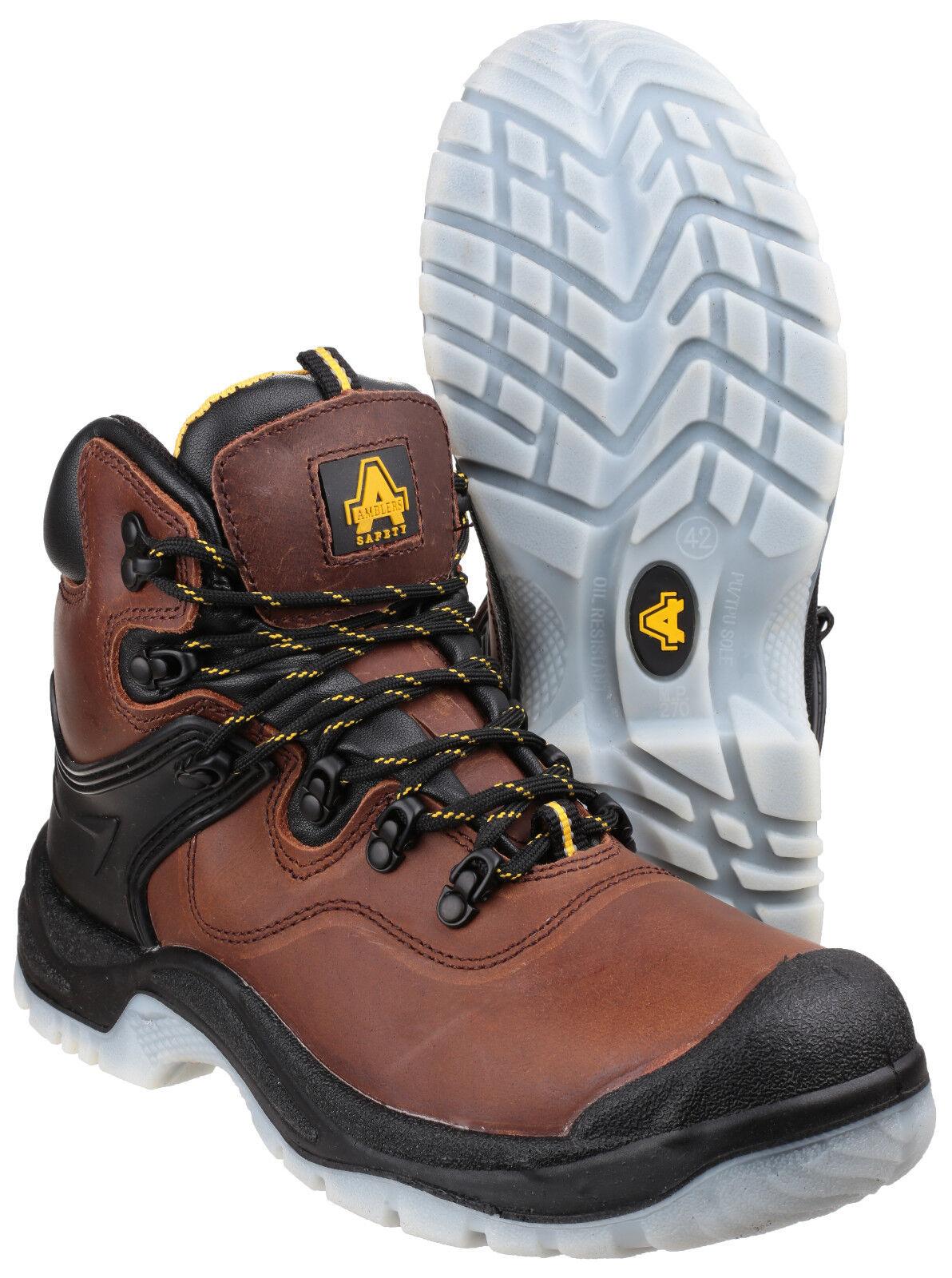 Amblers FS197 Chaussures de Sécurité Sécurité Sécurité Imperméable Marron  pour Hommes d7492a c1187e2e9715