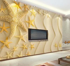 3D Beach Starfish 164 Paper Wall Print Wall Decal Wall Deco Indoor Murals