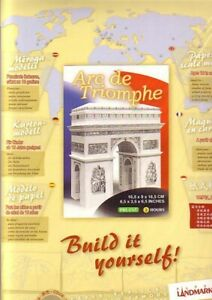 Arc de Triomphe - Landmark Paper Model Kit - Build it Yourself