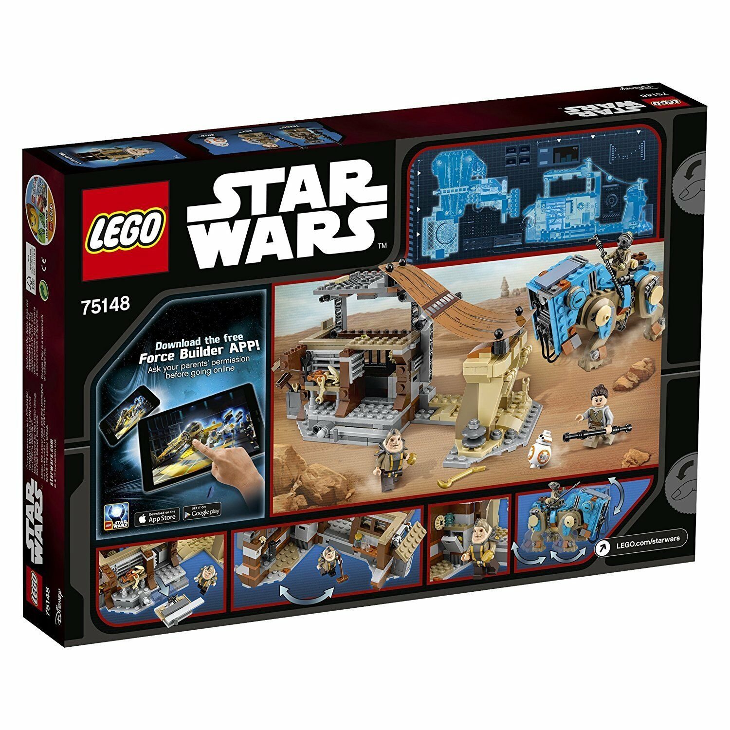 LEGO® Star Wars 75148 Encounter on Jakku - - - neu ovp 831876