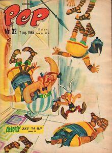 PEP-1965-nr-32-ASTERIX-COVER-ARENDSOOG-ROODBAARD-MICHEL-VAILLANT