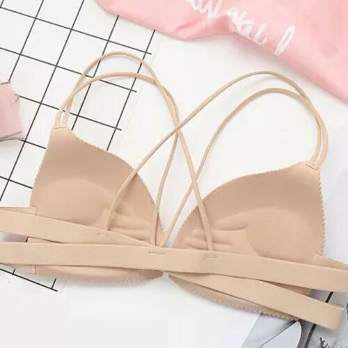 Women Bras Seamless Underwear Bra Push Up Bralette Wire Free Strap Brassiere