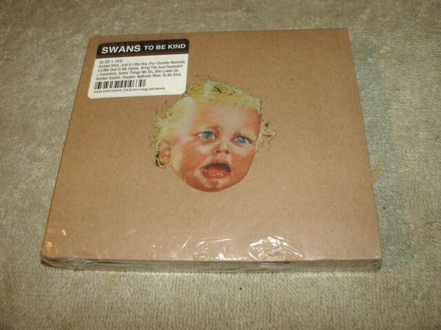 Swans - To Be Kind - TWO CD and ONE DVD - Brand New in Factory Shrink - 2014