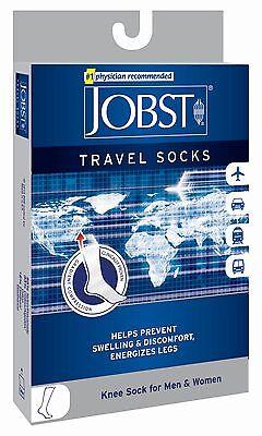 Jobst Travel Knee Support Socks 15-20mmHg Compression Men Women Swelling Legs