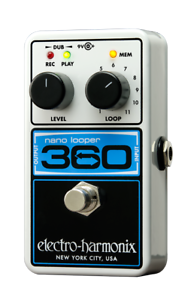 Electro-harmonix Nano Looper 360 Neuf De Revendeur! Free 2-3 Day S&h In U.s.-ix Nano Looper 360 Brand New From Dealer! Free 2-3 Day S&h In U.s. Fr-fr Afficher Le Titre D'origine