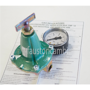 "REGOLATORE BASSA PRESSIONE GAS GPL 10 KG//h  30 mbar 1//2/"""