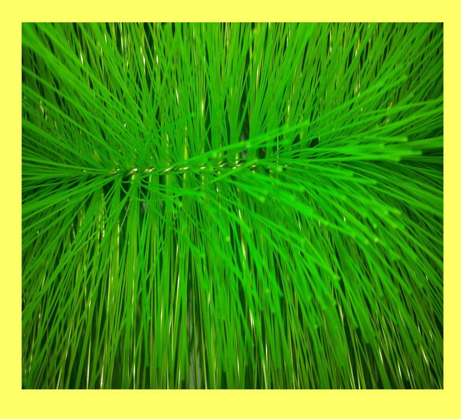 20 PEZZI FILTRO SPAZZOLA verde sottili 40 cm di lunghezza stagno Spazzola koiteich Stagno Filtro F