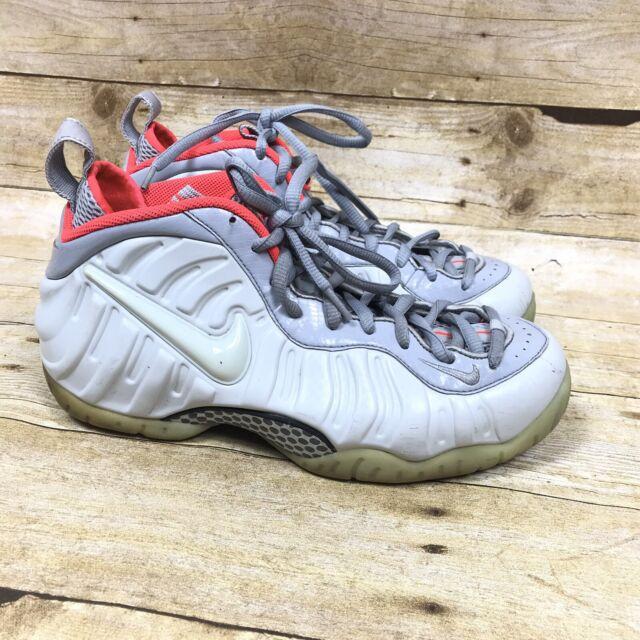 cheap for discount 8d23e 939b5 Nike Air Foamposite Pro PRM Mens 8 Pure Platinum Wolf Grey 616750-003 Shoes