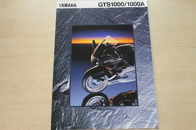 Yamaha Gts 1000 Amiable 165468 1000 A Prospekt 1994 Clearance Price