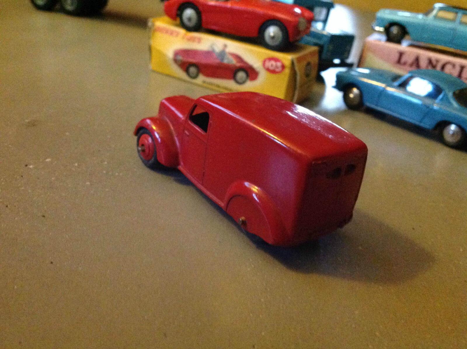 Dinky Toys R FRA 65533;'Drough 65533f.28 fourgonnette de livraison (ann fram65533;65533;e de sorglidas 1940 3 65533;rough 65533me version