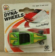 Vintage ZYLMEX Green Hot Rod Dynawheels Hong Kong EXTREMELY RARE New
